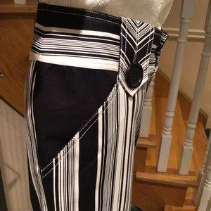 White/ black summer pants jean like